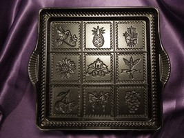 Nordic Ware Shortbread Tarte Cake Pan Fruit Flowers Butterfly Hummingbird - $24.75