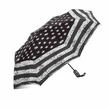 InterestPrint Grunge Black and White American Flag Vintage USA Flag- 100% Polyes - $25.73