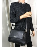Kate Spade chester street miri Crossbody Satchel Black Leather Small Bag