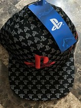 PlayStation Logo All Over Print Baseball Cap - Think Geek - $25.73