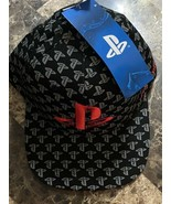PlayStation Logo All Over Print Baseball Cap - Think Geek - $25.73