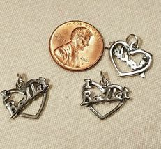 MUSIC DANCE HOBBIES STERLING SILVER CHARM .925 - HUGE SELECTION - YOU CHOOSE image 12
