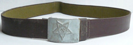 Russian Canvas Belt Buckle Soldier Soviet Original Army Military Uniform USSR - $14.85