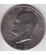 1972 D Eisenhower Dollar Ike Silver Dollar Coll... - $2.00