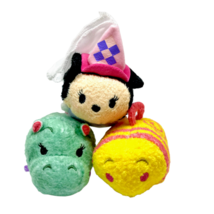 Disney Fantasyland Tsum Tsums Plush Set Disneyland Princess Minnie Hippo... - $29.47