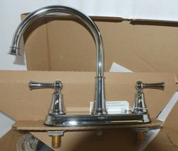 Pfister F0364SVC Bremerton Collection 2 handle Kitchen Faucet Polished Chrome image 3
