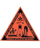 1938 Oklahoma Philatelic Society Sixth Annual Convention, Seminole, Okla... - €10,23 EUR