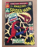 The Amazing Spider-Man #4 King Size Special Original 1967 Marvel Comic Book - $14.99
