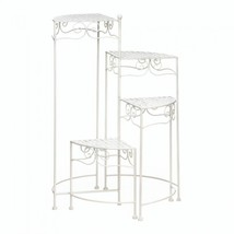White 4-tier Plant Stand - $71.11