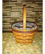 Longaberger 1996 Easter Basket With Liner & Protector  - $29.99