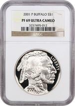 2001-P Buffalo $1 NGC Proof 69 UCAM - $160.05