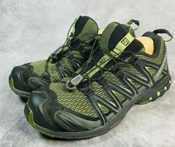 Salomon XA Pro 3D Mens Size 9 Green Black Trail Hiking Mountain Running ... - $46.39