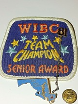 Vintage Lot of 8 WIBC Senior Womens Bowling Award Tournament Patches and... - $14.80