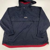 Vintage Chaps Ralph Lauren Windbreaker Jacket Men's XL Long Sleeve Navy ... - $29.99