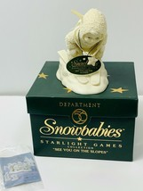 Dept 56 Snowbabies 2000 Starlight Games See You On the Slopes Figurine #... - $18.99