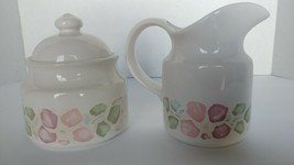 Pfaltzgraff Cream Pitcher and Sugar Bowl Set - $8.00