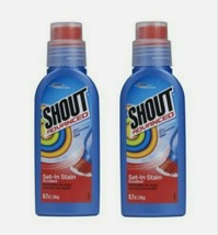 2 SHOUT Advanced Ultra Concentrated Gel Set-In Stain Scrubber Stain Remo... - $23.97