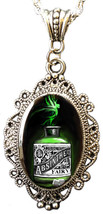 Alkemie & Artistry ABSINTHE CAMEO Necklace BEVERAGE - $24.98