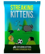NEW Streaking Kittens Exploding Kittens 15 Card First Expansion Pack Car... - $14.70