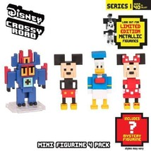 disney crossy road series 1 mini figurine pack 3 figures plus 1 mystery ... - $17.00