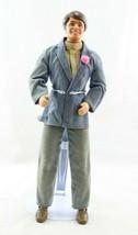 "Vintage Ken 1970s Doll 12"" Mattel Barbie Taiwan 1968 Body Velour Suit Di... - $9.99"