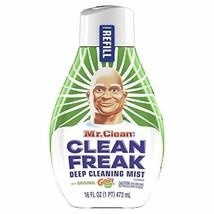 Mr. Clean Freak Deep Cleaning Mist Refill, Original Gain, 16 fl oz Pack of 2