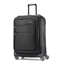 Samsonite Flexis Expandable Softside Checked Luggage with Spinner Wheels, 25 Inc - $222.29