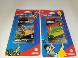 E Reader TENNIS & EXCITEBIKE 10 Scan Cards for Nintendo Game Boy Advance... - $19.75