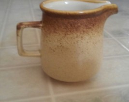 Mikasa Whole Wheat Stoneware Pattern Creamer Japan  C0900 Not Footed Sty... - $13.99