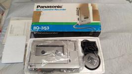 Panasonic Mini Cassette Recorder RQ-353 #1 - $26.73