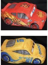"Disney Pixar Cars 3 Lightning McQueen FlipaZoo 2-in-1 Plush 14"" new - $24.65"
