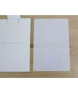"""Genuine Apple iPad Logo Stickers Decals OEM total of 2 stickers about 1.5"""" - $4.99"""