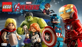 Lego Marvel Avengers PC Steam Key NEW Download Game Fast Region Free - $8.11