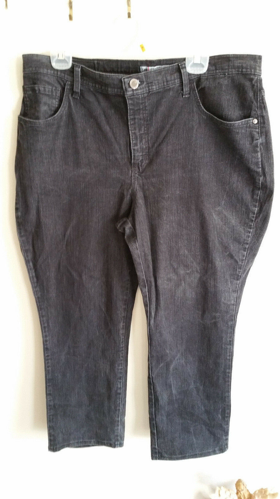 Plus size Petite 18W  Lee Jeans Classic Fit Dark Wash Stright Leg
