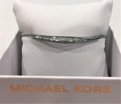 Michael Kors MKJ6744040 Beyond Brilliant with Crystal Bling Slider Brace... - $59.69