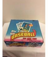 RARE HTF 1989 Topps Baseball Jumbo Wax Box 24 Packs 29 Cards SMOLTZ, JOH... - $46.95