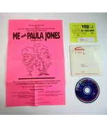 Rare Me and Paula Jones by Bruce Alan Comedy Promo CD to KGFM-FM Bakersf... - $14.99