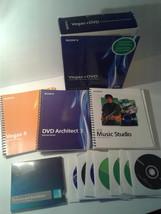 Sony Vegas + Dvd Pro Hd Video, Audio, And Dvd Creation w/ACID Pro (Vegas 6) 2005 - $79.99