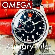 1927 OMEGA Custom Converted Watch Military Skeleton Manual 47.9mm SN6681946 - $724.78