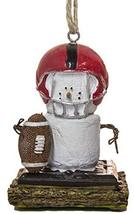 S'Mores Football Player Christmas/Everyday Ornament - $11.83