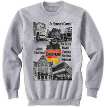 GERMANY DORTMUND - NEW COTTON GREY SWEATSHIRT - $31.88