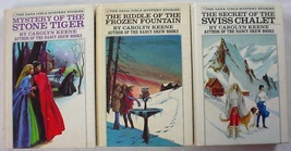Dana Girls 3 Lot 1, 2 & 7 Stone Tiger Riddle of the Frozen Fountain Swis... - $12.00