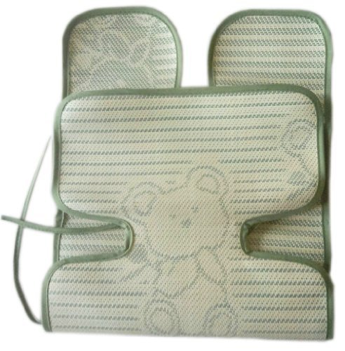 Infant Pram Seat Liner Toddler Summer-use Stroller Liner Bear