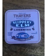 1 Thayers Slippery Elm Lozenges Cherry Natural Remedies Discontinued Rar... - $19.79