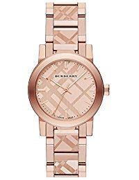 Burberry BU9235 Rose Gold Sapphire Women's Watch