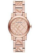 Burberry BU9235 Rose Gold Sapphire Women's Watch - $515.47