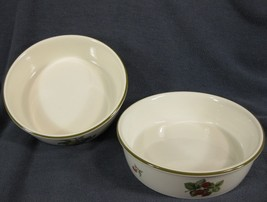 Wedgwood Fruit Sprays Croft Soup Cereal Bowls England Lot of 2 - $27.95