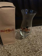 Hard Rock Cafe Gatlinburg Hurricane Mixed Cocktail Drink Glass Excellent... - $19.79