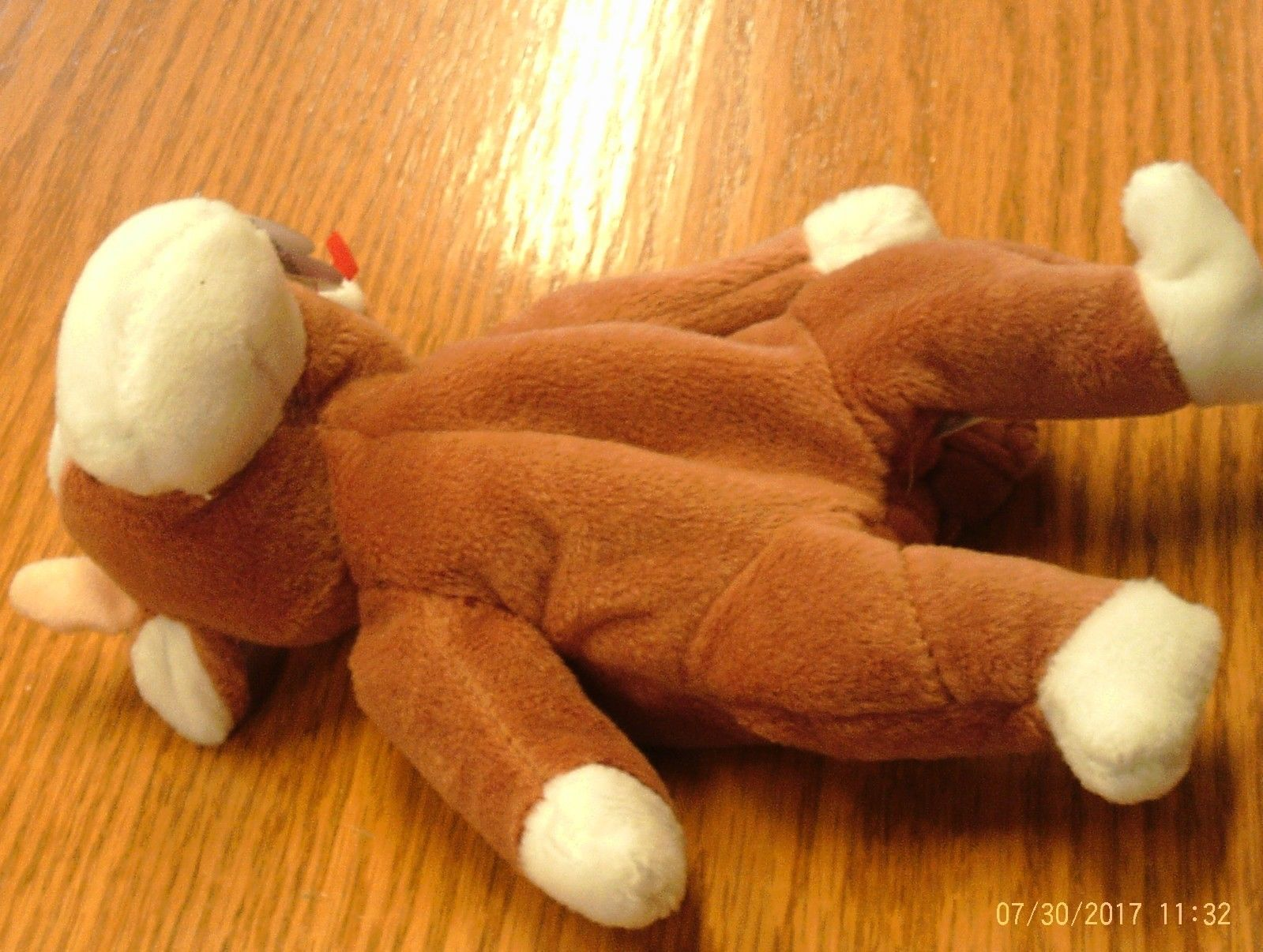1st Edition Beanie Babies Rare Bessie the Cow, image 5