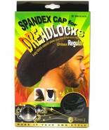 King J Spandex Cap Dreadlocks Unisex Regular Ultra Stretch Cover Loc Bla... - $3.99
